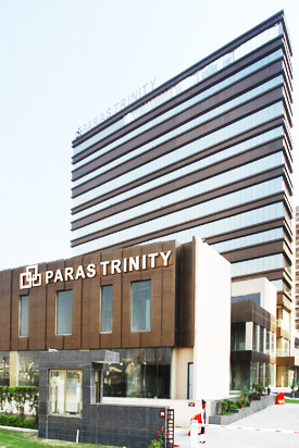 Paras Trinity Commercial project