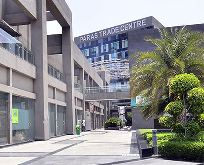 Paras Trade Centre Commercial project