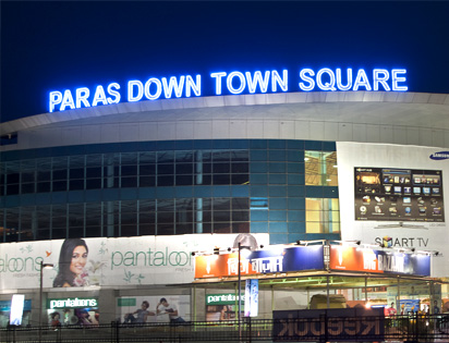 Paras Down Town Square Commercial project